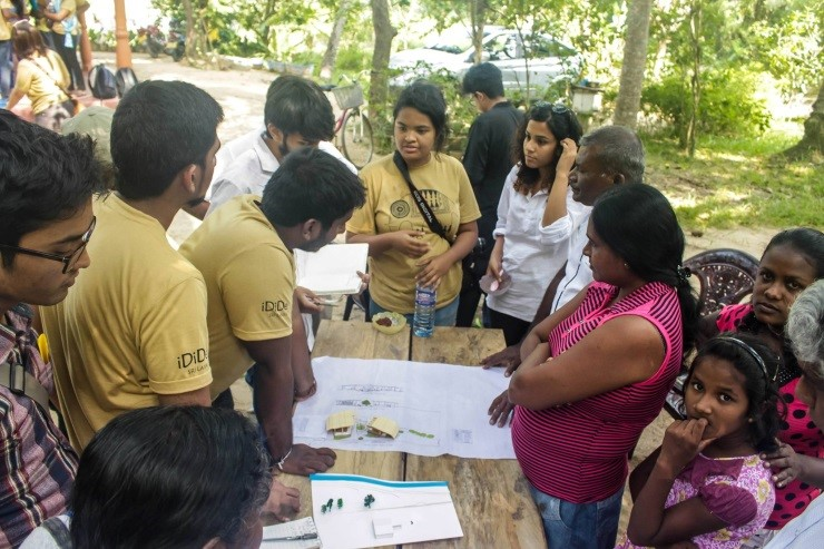 Manipal School of Architecture & Planning (MSAP) in the Inter-Cultural International Design Studio (iDiDe) at Srilanka