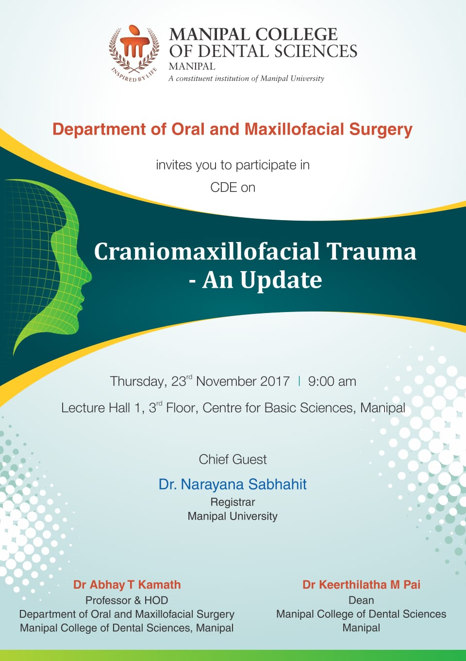 CPD on Craniomaxillofacial Trauma- An Update