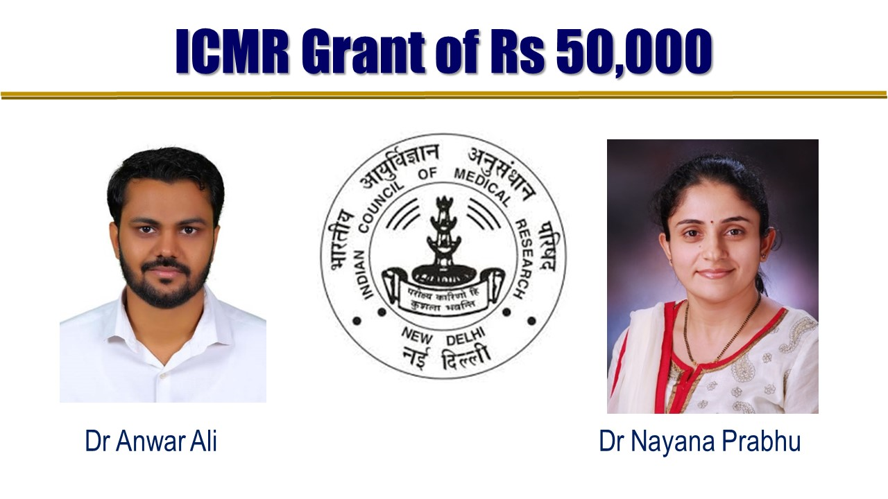 ICMR Grant for Postgraduate Thesis
