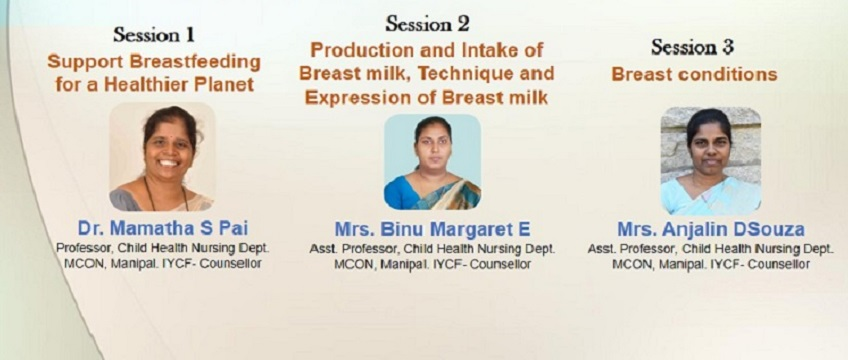 "Symposium on ""support breastfeeding for a healthier planet """