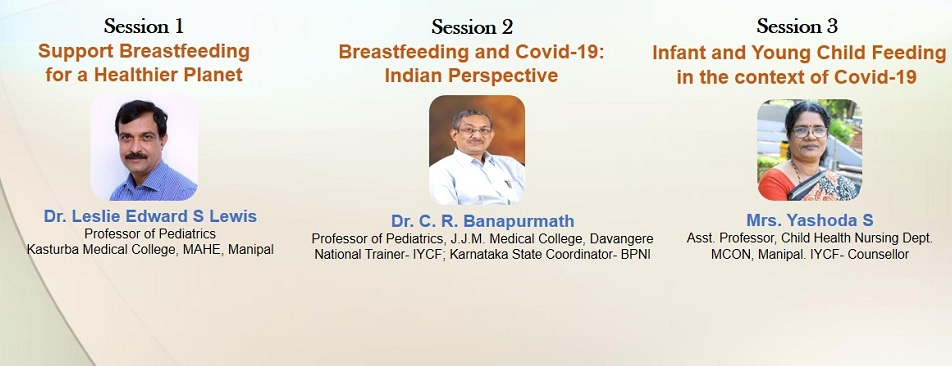 "Report of Capacity Building Webinar on ""Infant and Young Child Feeding"""