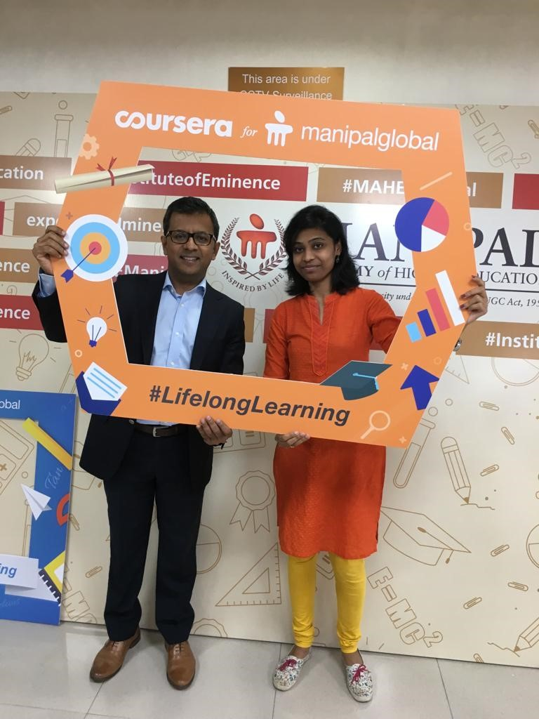 Keerthi Priya, research scholar of MCOPS bags the first prize in 'Learn A Skill contest'