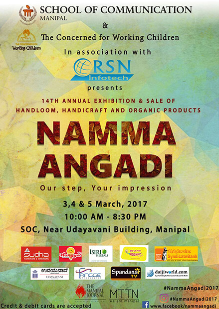 Three-day Namma Angadi in Manipal from March 3
