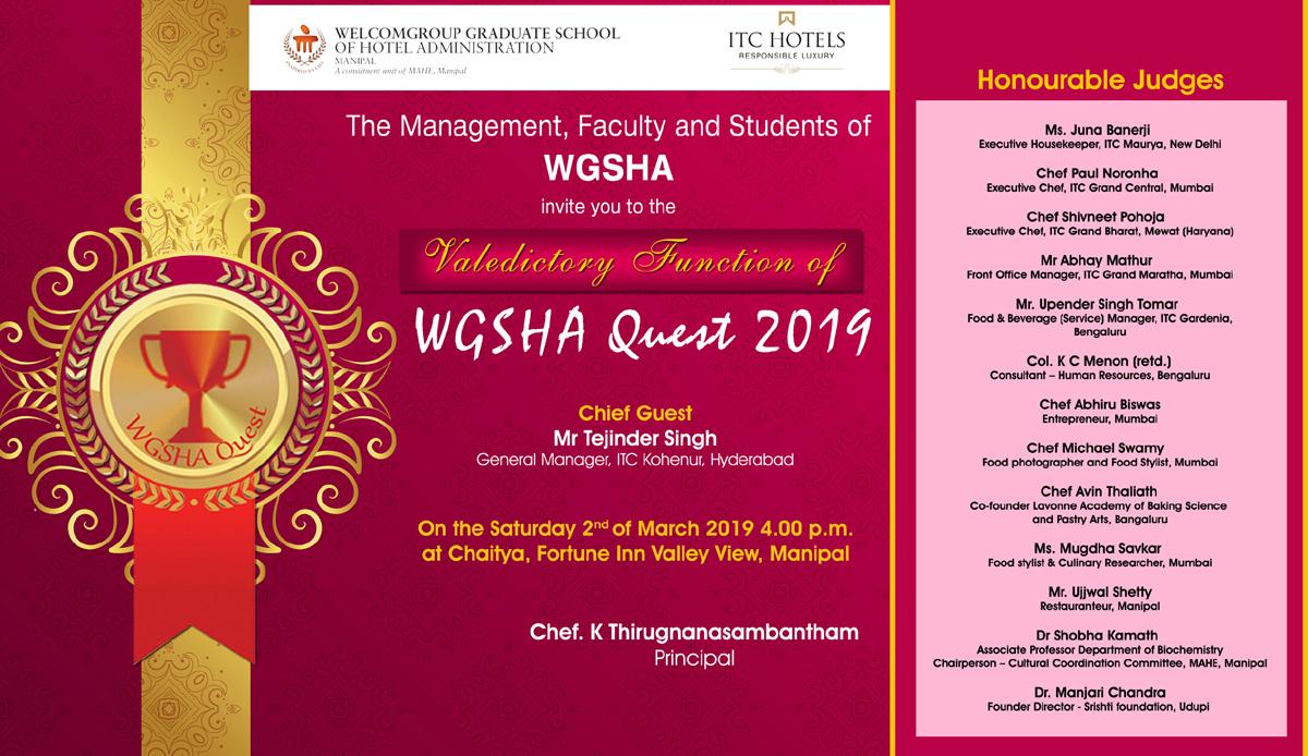 WGSHA Quest 2019